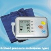 Arm full-automatic speech blood pressure meter